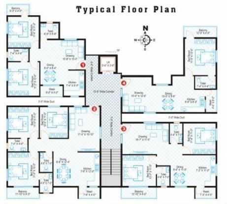 Subham AB Residency Cluster Plan