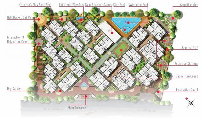 Narya 5 Elements Site Plan