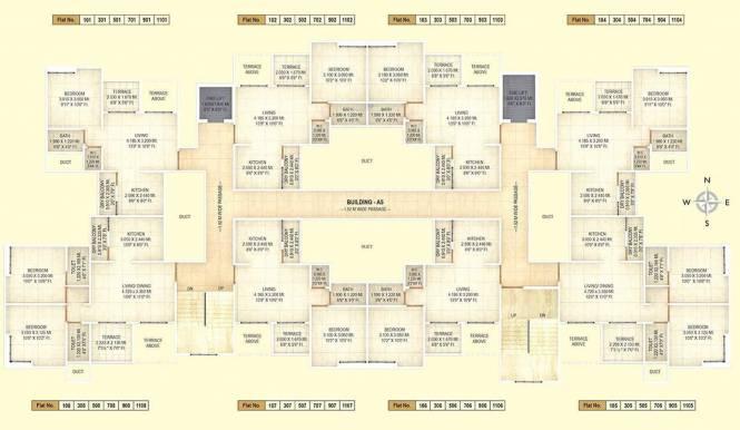 Shagun Sunshine Hills Phase II A5 Cluster Plan