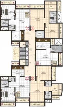 Atharva V Amber Cluster Plan