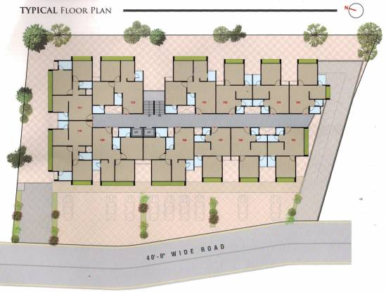 Hamzah Arkam Residency Cluster Plan
