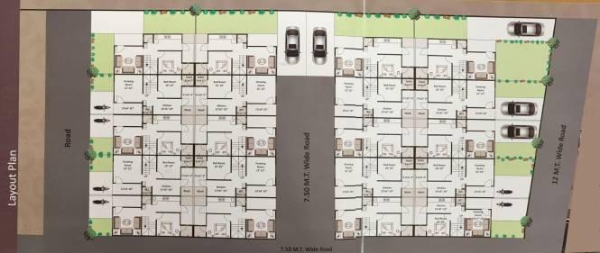 Marjan Residency Layout Plan