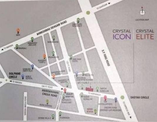 Crystal Elite Location Plan