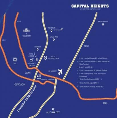 Forward Capital Heights Location Plan