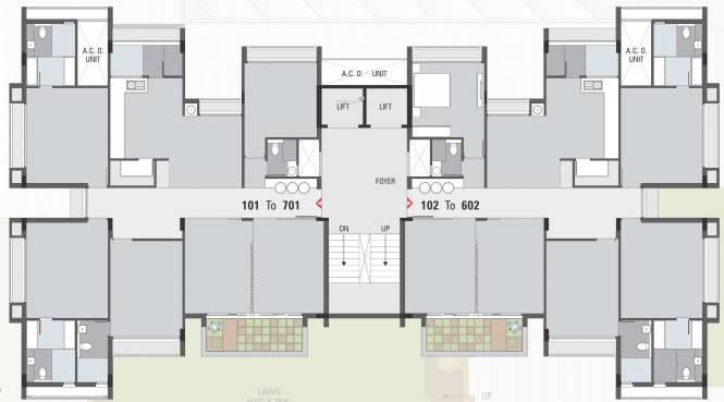 Shivam Homes Cluster Plan