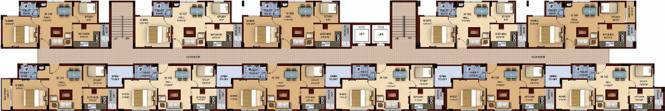 Amarprakash Royal Castle Phase 2 Cluster Plan