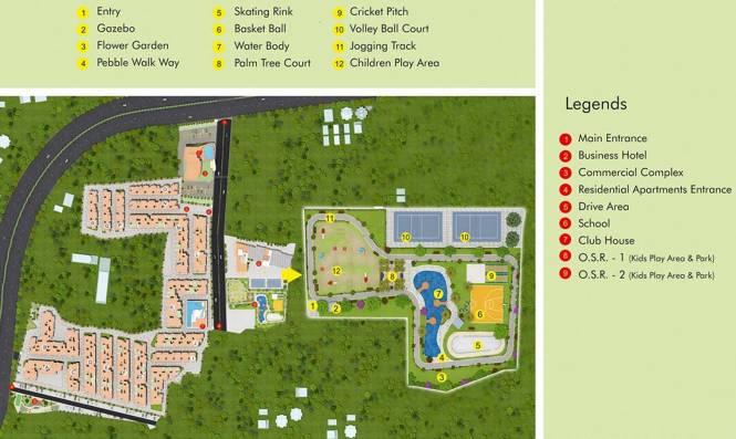 Amarprakash Royal Castle Phase 2 Master Plan