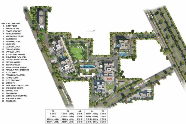 Godrej Air Master Plan