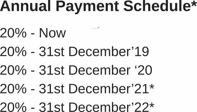 Rustomjee Azziano Wing L Payment Plan