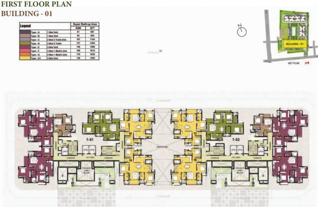 Prestige Willow Tree Cluster Plan