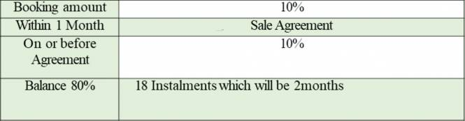 Prestige Willow Tree Payment Plan
