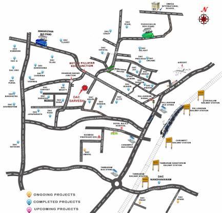 DAC Sarvesh Location Plan