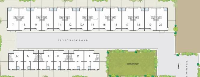 Sadbhav Satyam Villa Layout Plan