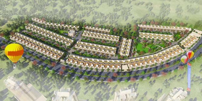 Gaursons Krishn Villa Elevation