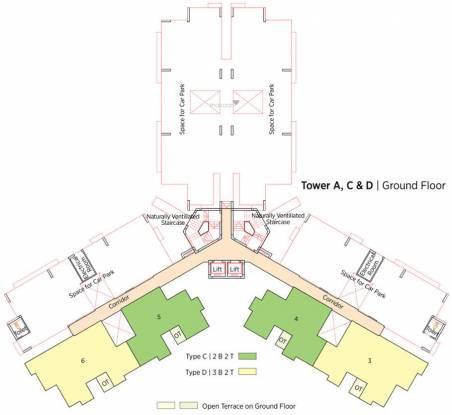 Eden Solaris City Serampore Cluster Plan