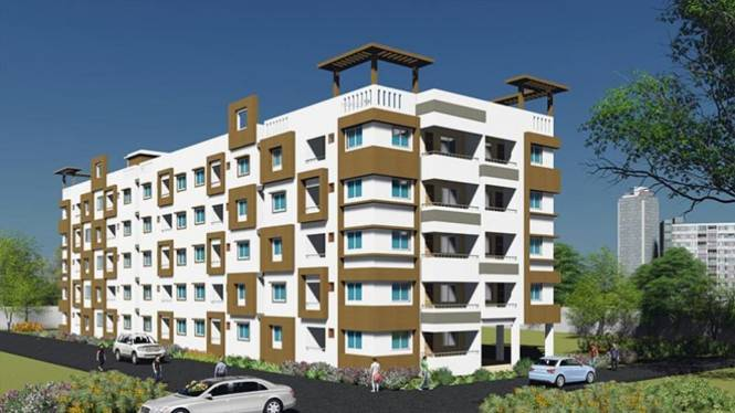 NPR Gitanjali Apartments Elevation