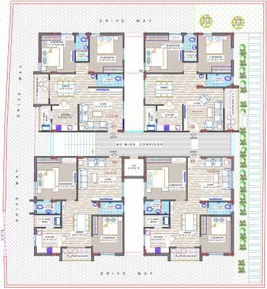Sree Surya Y3 Cluster Plan