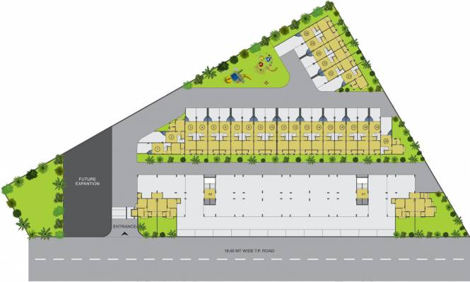 Shakti Kailash Tirth Avenue Villa Layout Plan