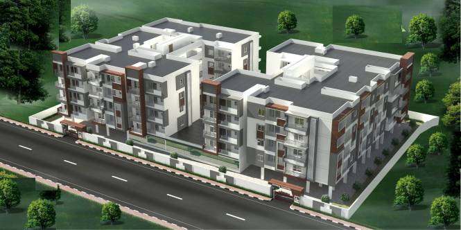 V K Krishna Gardenia Elevation