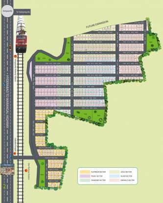 Nature Yadadri Ambience Layout Plan