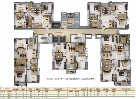 Merlin And Ganges Elements Cluster Plan