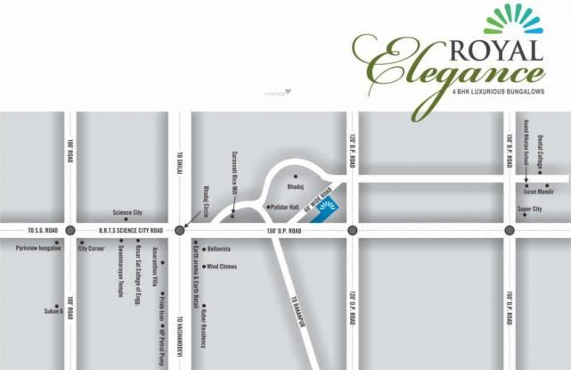 Shri Barfani Dadaji Royal Elegance Location Plan
