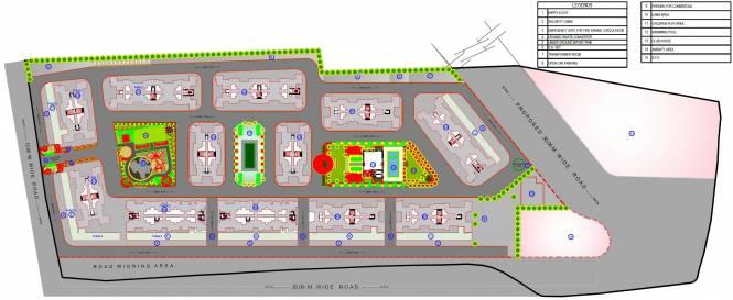Mantra Residency Phase 5 Layout Plan