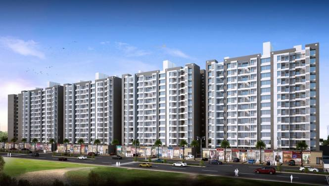 Mantra Residency Phase 5 Elevation