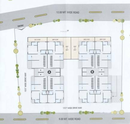 Vega Pushpam Flora Layout Plan