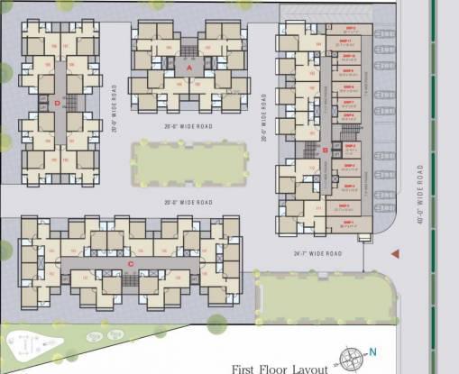 Shree Prayosha Residency Cluster Plan