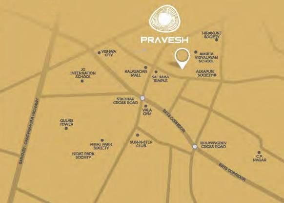 HH Pravesh Location Plan