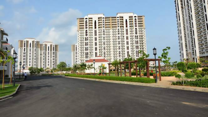 DLF New Town Heights Elevation