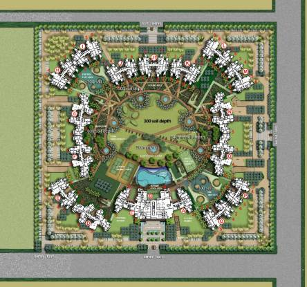 Logix Blossom County Layout Plan