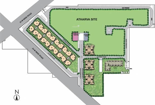 Raheja Shilas Site Plan