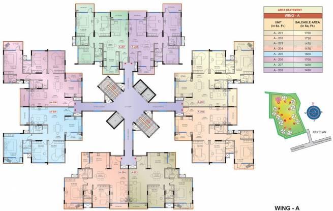 Mantri Tranquil Cluster Plan