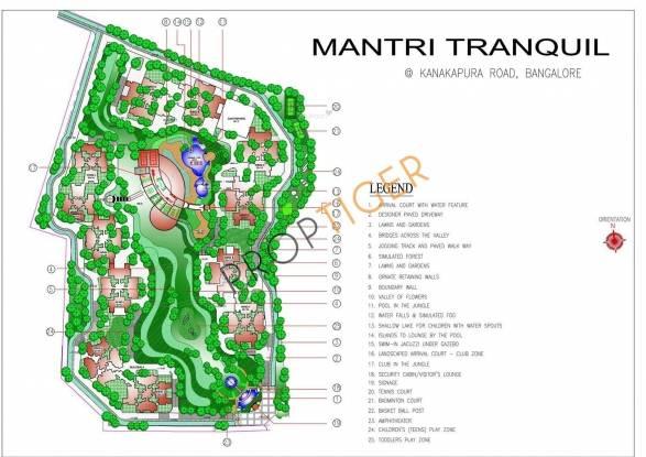Mantri Tranquil Site Plan