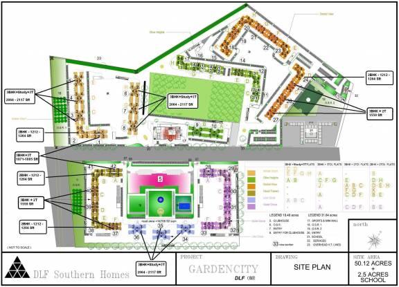 DLF Gardencity Layout Plan