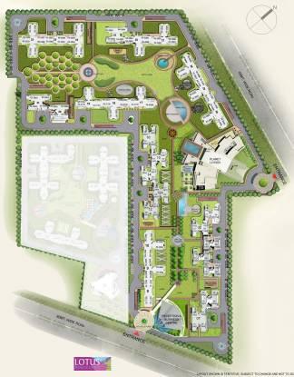 3C Lotus Boulevard Site Plan