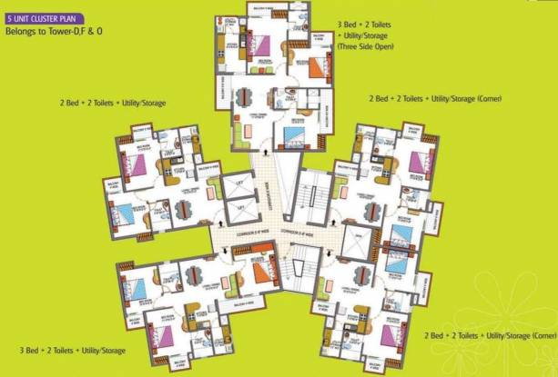 Paramount Floraville In Sector 137 Noida Flats For Sale In
