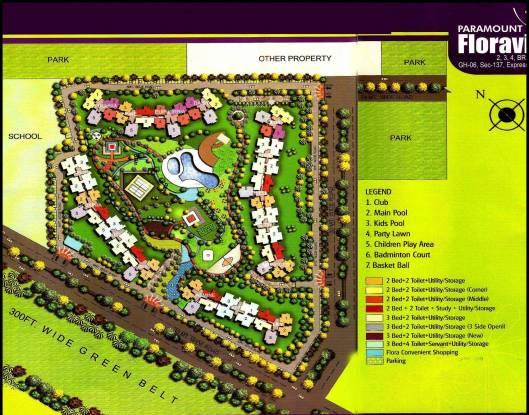 Paramount Floraville Site Plan