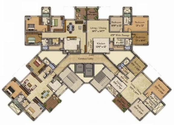 Kumar Princetown Royal Cluster Plan