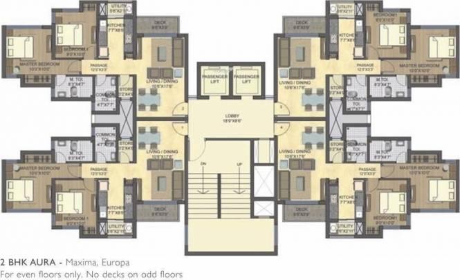 Lodha Casa Bella Gold Cluster Plan