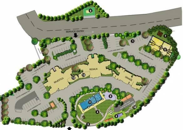 Lodha Casa Royale Site Plan