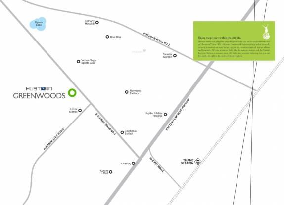 Hubtown Greenwoods Location Plan