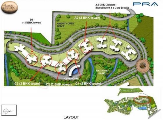 PRA The Lake District Layout Plan