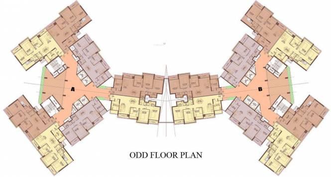 Oberoi Splendor Cluster Plan
