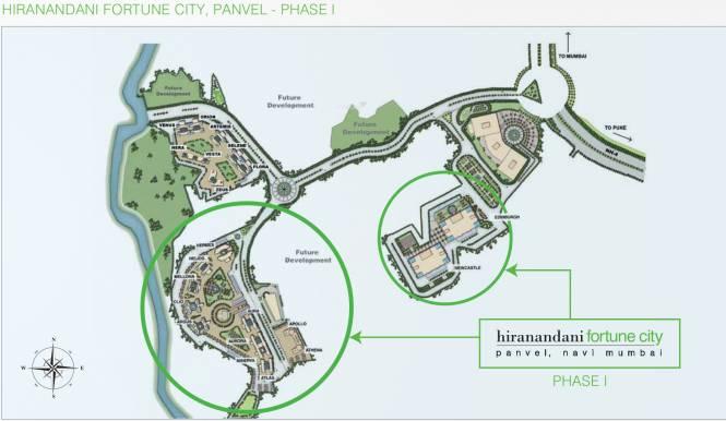Hiranandani Fortune City Layout Plan