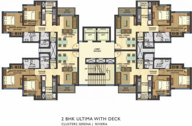 Lodha Casa Bella Cluster Plan
