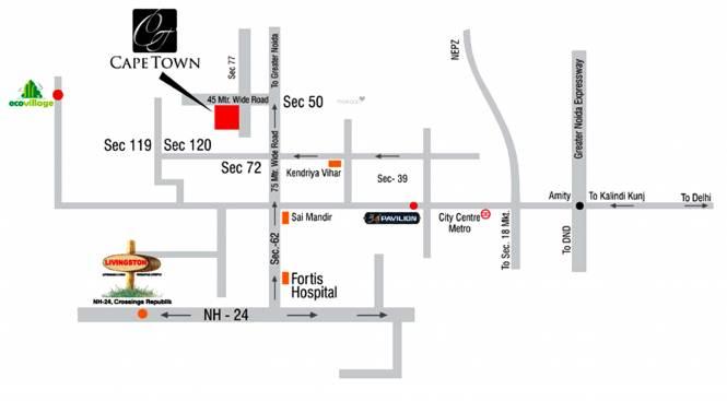 Supertech CapeTown Location Plan