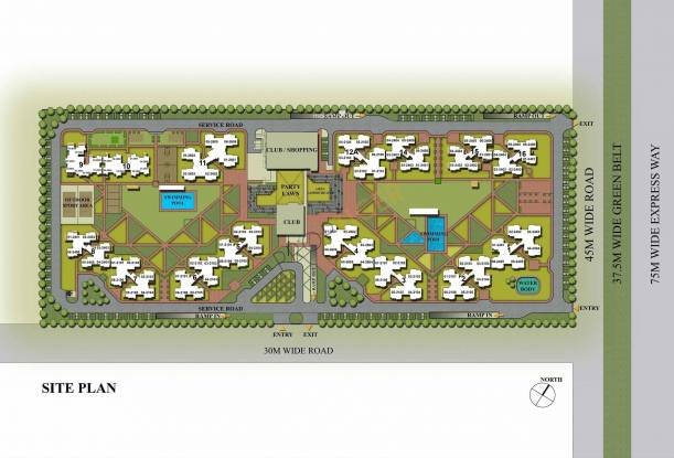 3C Lotus Zing Site Plan